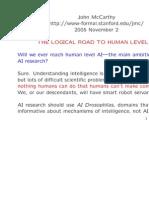 Human Level Sli