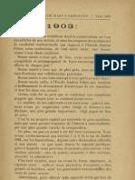 Reclams de Biarn e Gascounhe. - Yené 1903 - N°1 (7eme Anade)
