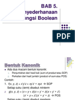 Bab 5penyederhanaanfungsiboolean 120127000809 Phpapp01