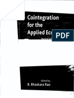 Cointegration for Applied Economist