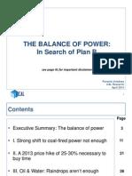 The BalancThe Balance of Power