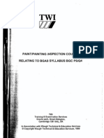 TWI Paint-Painting Inspection Course Relating to Bgas Syllabus BGC PS-Q4