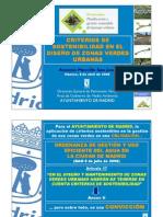 Documentos Criterios Sostenibilidad Zonas Verdes Urbanas
