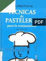 Recetas Libro Cocina - Tecnicas de Pastelaria