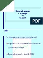 Investitia in RU