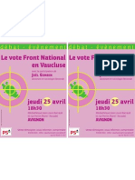 Tract Vote Fn