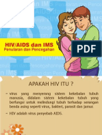 Lembar balik HIV AIDS IMS