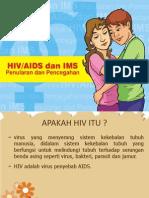 Lembar balik HIV AIDS IMS