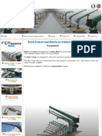 Deck Cranes and Davits in Carbon Fiber- FEMstrutture