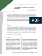 Histología del tubo digestivo de Laetillia coccidiura (Lepidoptera