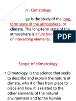 Elements Climatology Lesson 2
