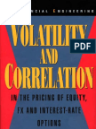 Great - Volatility and Correlation in the Pricing of Equity, Fx, And Interest-Rate Options (Wiley,2005)2