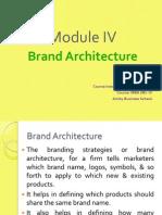 92eb3Module IV_Brand Architecture