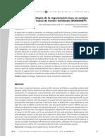 Descripción histológica de la regeneración ósea en conejos implantados con hueso de bovino liofilizado (NUKBONE)Aline Domínguez Alonso y M. en C. Claudia Karina Torres Villaseñor.