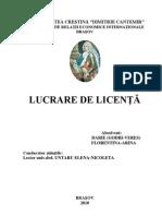 ANALIZA  POTENŢIALULUI TURISTIC  AL  REGIUNII EMILIA-ROMAGNA (BOLOGNA)