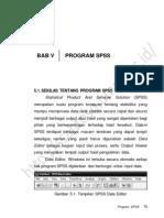 Bab v. Program Spss