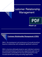Customer Relationship Mgmt