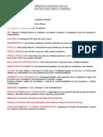 Direito Constitucional Resumo Prova 10042013