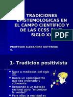 TRADICIONES EPISTEMOLÓGICAS EN EL CAMPO CIENTÍFICOY DE LAS