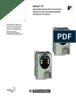 Altivar 31 Adjustable Speed Drive Controllers Installation Manual