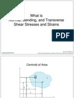 Normal, Bending and Transverse Shear Stress and Strains_kuli