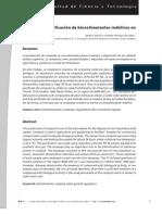 Análisis e identificación de bioestimulantes indólicos en una composta. Ignacio García y Leandro Rodrigo González.