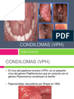 CONDILOMAS (VPH) EXPO.pptx