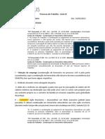 Transcrição Aula 03-Processo do Trabalho