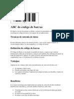 ABC de código de barras