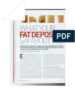 What Your Fat Deposits Say About You