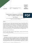 Capital Market Integration