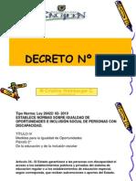 DECRETO N-¦ 170