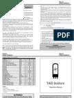 Power Tube Biasing Operation Manual 15-01-08