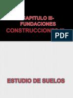Capitulo III- Fundaciones