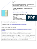 Cambridge Review of International Affairs 2004 Diez
