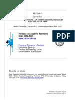 Del tráfico caravanero a la arriería colonial indígena en Jujuy. Siglos XVII y XVIII.pdf