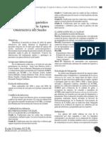 Guía para el diagnóstico y tratamiento de la Apnea Obstructiva del Sueño