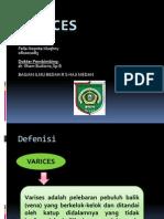 VARICES Presentasi