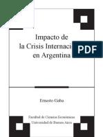 3-Impacto de La Crisis Internacional en Argentina