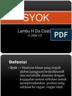 Presentation Syok