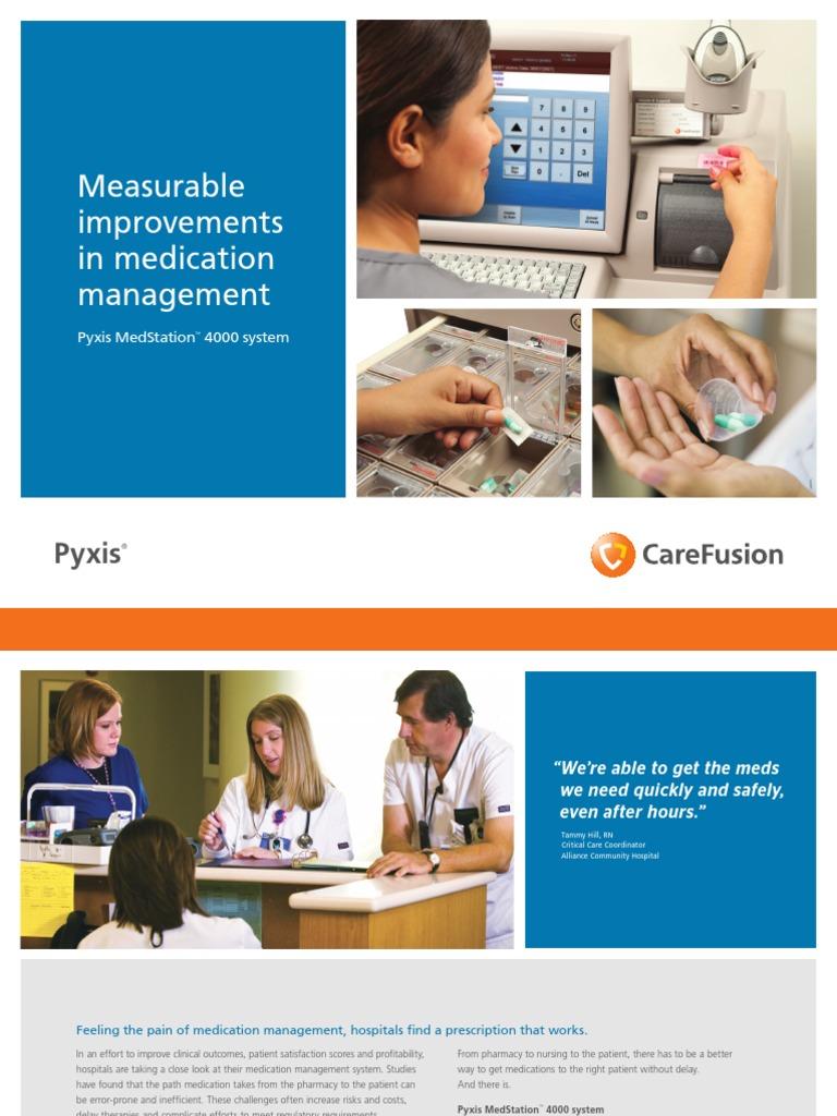 di3422 pyxis medstation 4000 system brochure pharmacy