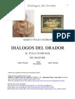 Ciceron Marco Tulio - Dialogos Del Orador (Bilingue)