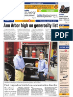 The Ann Arbor Journal front page, April 18, 2013