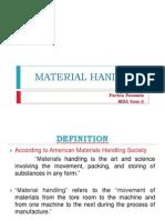 Material Handling 2009