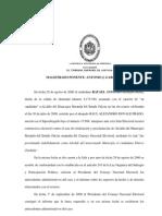 TSJ-SE, Nulidad elecciones Municipio Miranda Estado Falcón 130-141100-0098