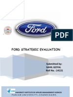 Ford Strategic Evaluation Project( Sahil Goyal 14131)2