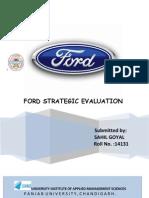 Ford Strategic Evaluation Project( Sahil Goyal 14131)2