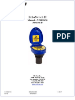 FlowLine Level Switch EchoSwitch LU74 LU77 LU78 Manual