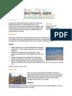Hotels4u Dubai Travel Guide