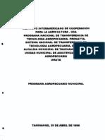 Plan Municipal Agropecuario
